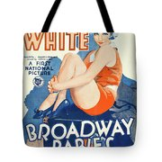 Classic Movie Poster - Broadway Babies Tote Bag