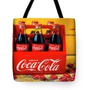 Classic Six Pack Of Cokes Tote Bag