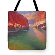 Clear Currents Tote Bag