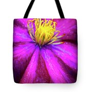 Clematis Flower Tote Bag