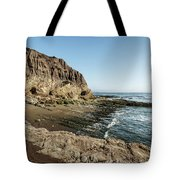 Cliff In The Ocean Tote Bag