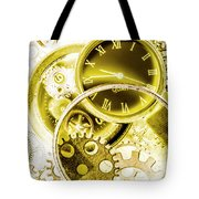 Clock Watches Tote Bag