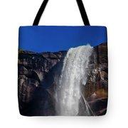 Close Up Bridalveil Falls Tote Bag