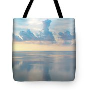 Cloud Reflections On Pamlico Sound Tote Bag