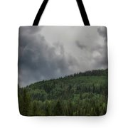 Cloud Topped Aspens Tote Bag
