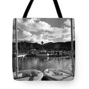 Clouds And Sailing  Tote Bag