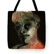 Clown On Black Tote Bag
