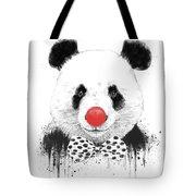 Clown Panda Tote Bag