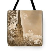 Clustered Spires Series - All Saints Episcopal Church No. 8cs - Frederick Maryland Tote Bag