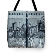 Clydesdale Mural Tote Bag