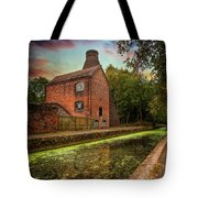 Coalport Bottle Kiln Sunset Tote Bag