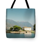 Coast Of Como Tote Bag