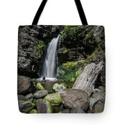 Coastal Falls Tote Bag by Margaret Pitcher