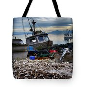 Coastal Fishing Vancouver Island Tote Bag