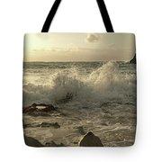 Coastal Saturday Morning Tote Bag