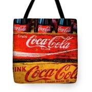 Coca Cola Crates Tote Bag