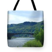 Cochem Castle And River Mosel In Germany Tote Bag