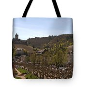 Cochem Castle And Town On Mosel In Germany Tote Bag