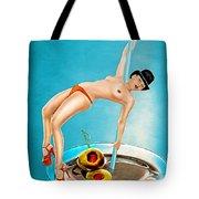 Cocktail Dance Tote Bag