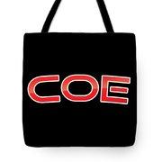 Coe Tote Bag