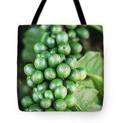 Coffee Berries Tote Bag
