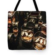 Cognac Cars Tote Bag