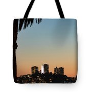 Coit Tower Twilight Tote Bag