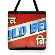 Cold Beer In India Tote Bag