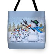 Cold Choir Tote Bag