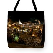 Cold Winter Night Tote Bag