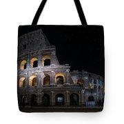 Coliseum At Night Tote Bag by Jaroslaw Blaminsky