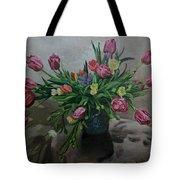 Color Of Natureoil Tote Bag