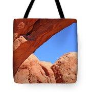 Colorado Arches, Close Up Blue Sky 3440 Tote Bag