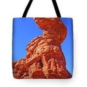 Colorado Arches Spire Scrub Dinosaur Rock? Scrub Blue Sky 3325 Tote Bag