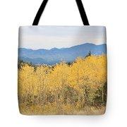Colorado Autumn In The Mountains Tote Bag