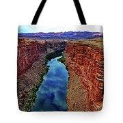 Colorado River From The Navajo Bridge 001 Tote Bag
