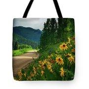 Colorado Wildflowers Tote Bag by John De Bord
