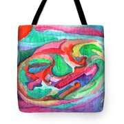 Colorful Abstraction Tote Bag
