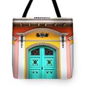 Colorful Door Tote Bag