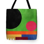 Colorful Geometric Abstract 4- Art By Linda Woods Tote Bag