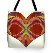 Colorful Heart - Naked Truth - Omaste Witkowski Tote Bag by Omaste Witkowski