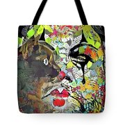 Colorful Makeup Tote Bag