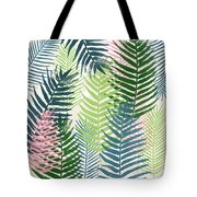 Colorful Palm Leaves 2- Art By Linda Woods Tote Bag