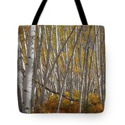 Colorful Stick Forest Tote Bag