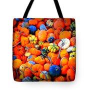 Colorful Tiny Pumpkins Tote Bag