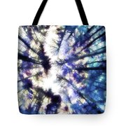 Colorful Trees Vi Tote Bag
