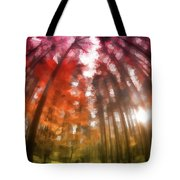 Colorful Trees Vii Tote Bag