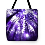 Colorful Trees X Tote Bag
