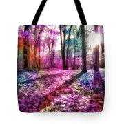 Colorful Trees Xii Tote Bag