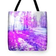Colorful Trees Xv Tote Bag